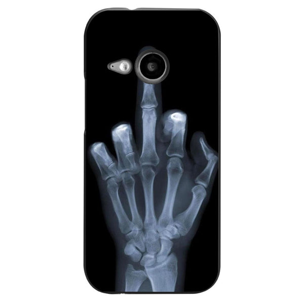Husă X-ray Middle Finger HTC One Mini 2 (m8)-Guardo.shop-Guardo.shop