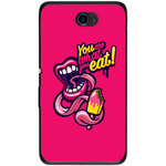 Husă You Are What You Eat Sony Xperia E4 E2104 5-Guardo.shop-Guardo.shop