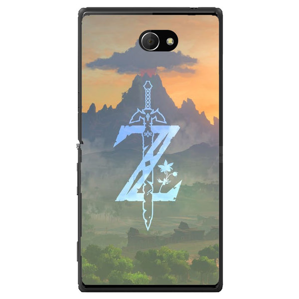 Husă Zelda Sword Illustation Sony Xperia M2 Dual D2302-Guardo.shop-Guardo.shop