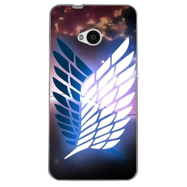 Husă Attack On Titan Glow HTC One M7-Guardo.shop-Guardo.shop