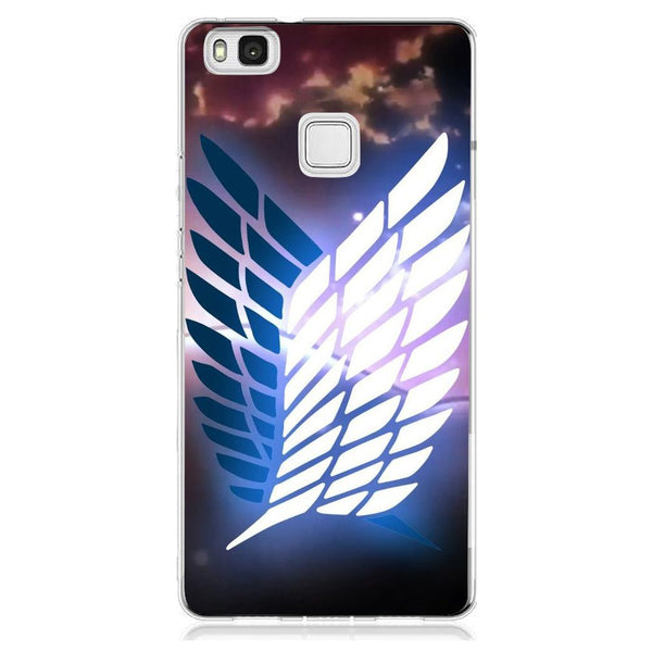 Husă Attack On Titan Glow HUAWEI P9 Lite-Guardo.shop-Guardo.shop