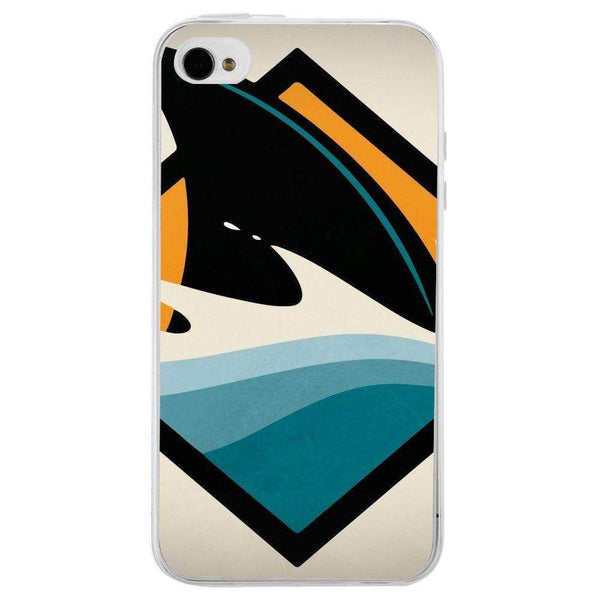 Husă Attention Sharks APPLE Iphone 4 - Guardo - Guardo,