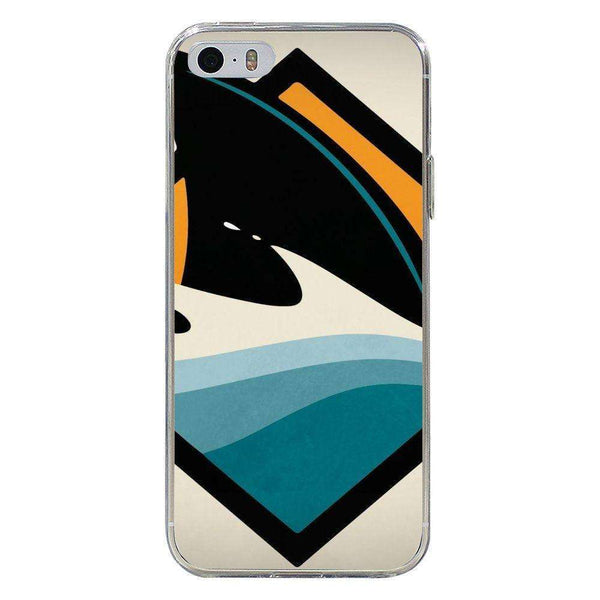 Husă Attention Sharks APPLE Iphone 5-Guardo.shop-Guardo.shop