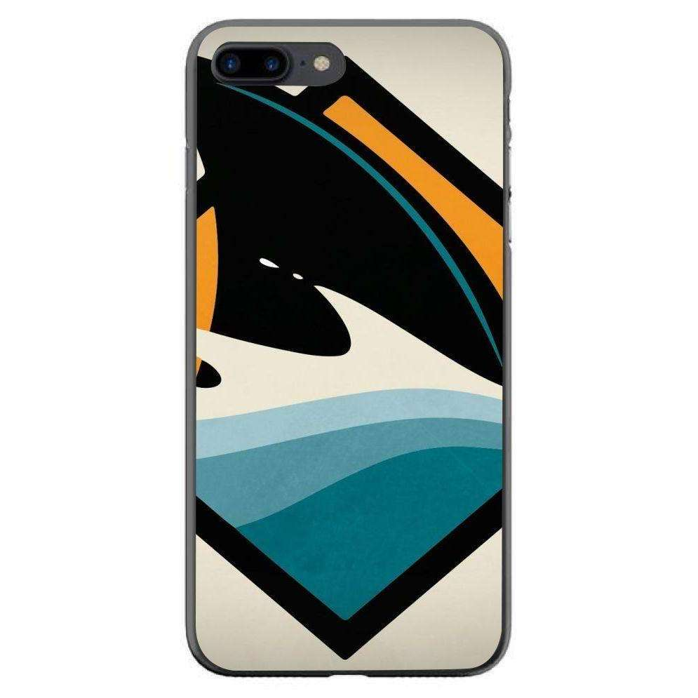 Husă Attention Sharks APPLE Iphone 7 Plus Black