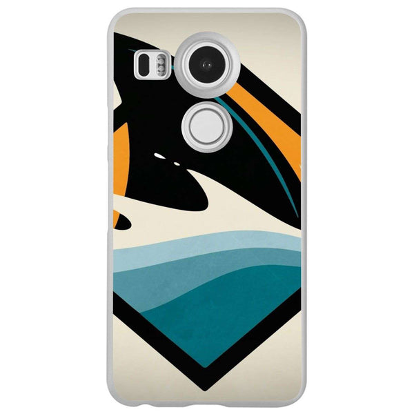 Husă Attention Sharks LG Nexus 5x-Husa-Guardo.shop