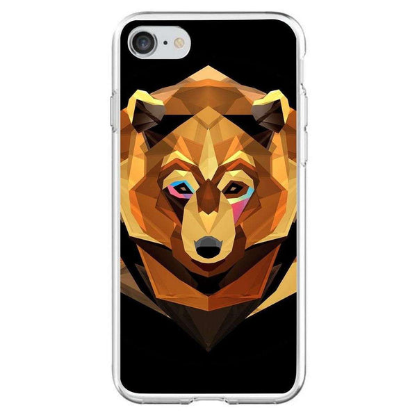 Husă Bear APPLE Iphone 7 White - Guardo - Guardo,