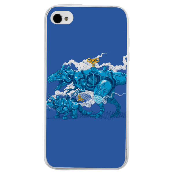 Husă Blue Fight APPLE Iphone 4-Guardo.shop-Guardo.shop
