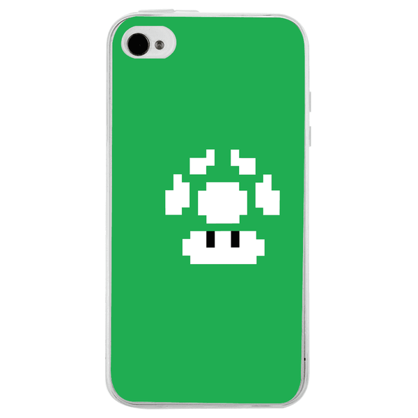 Husă Green Game Graphic APPLE Iphone 4-Guardo.shop-Guardo.shop