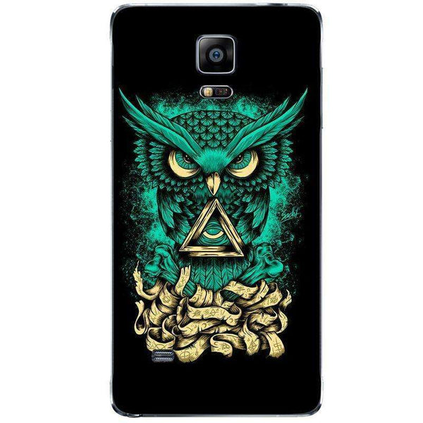 Husă Illuminati Owl SAMSUNG Galaxy Note 4-Guardo.shop-Guardo.shop