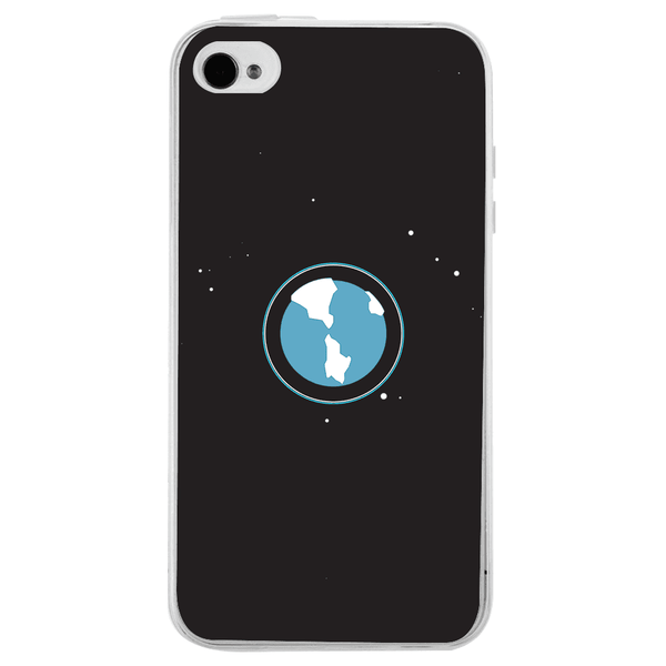Husă Minimalistic Earth APPLE Iphone 4-Guardo.shop-Guardo.shop