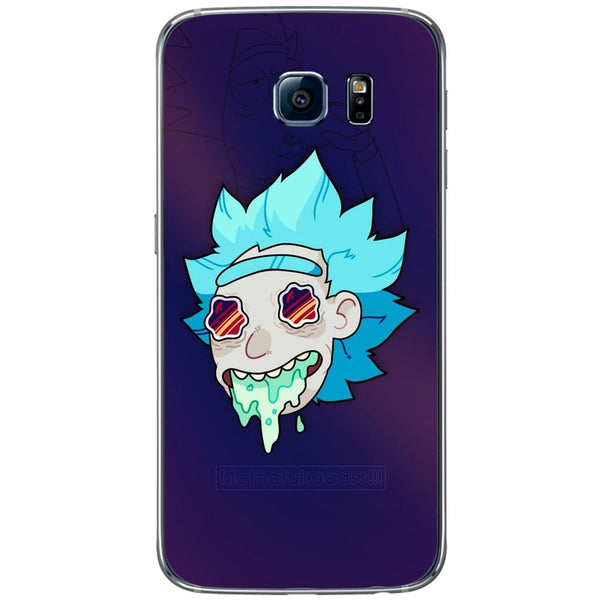 Husă Rick Drugs And Morty SAMSUNG Galaxy S6-Husa-Guardo.shop