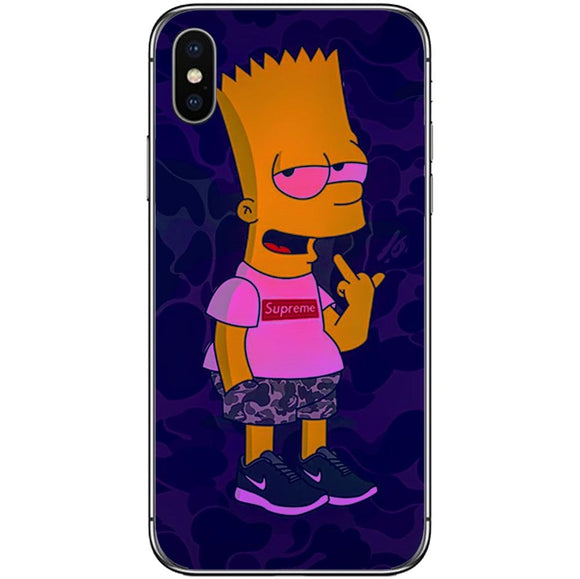 Husă Supreme_high_bart APPLE Iphone X-Husa-Guardo.shop