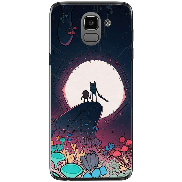Husa Adventure Time cartoon monster characters Samsung Galaxy J6 2018-Guardo.shop