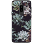 Husa Cacti flowers background Samsung Galaxy S9 PLUS-Guardo.shop