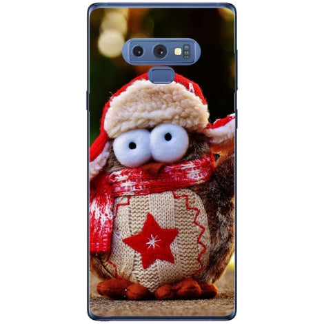Husa Christmas owl Samsung Galaxy Note 9