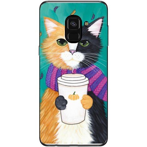 Husa Cozy cat Samsung Galaxy A8 2018