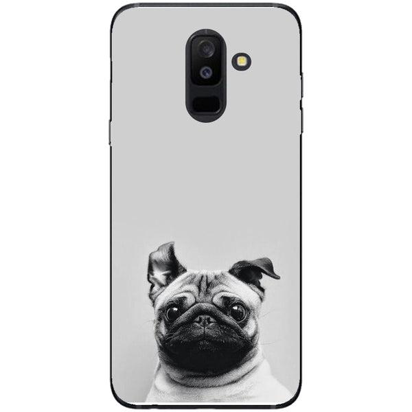 Husa Cute pug Samsung Galaxy A6 PLUS 2018-Guardo.shop