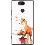 Husa Drawn Fox Sony Xperia XA2-Guardo.shop