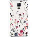 Husa Floral white Samsung Galaxy Note 4-Guardo.shop-Guardo.shop