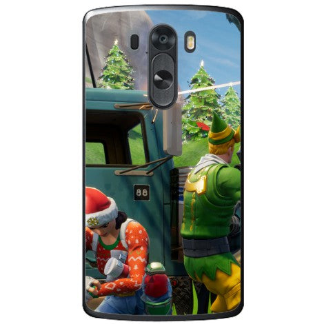Husa Fortnite christmas LG G3