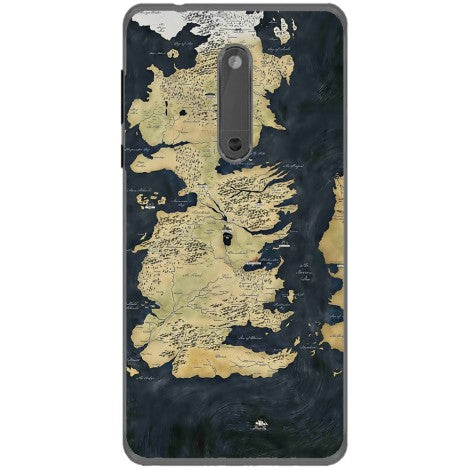 Husa Game of thrones map Nokia 5