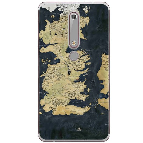 Husa Game of thrones map Nokia 6.1