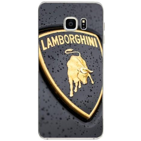 Husa Lambotghini logo Samsung Galaxy S6 Edge Plus-Guardo.shop-Guardo.shop