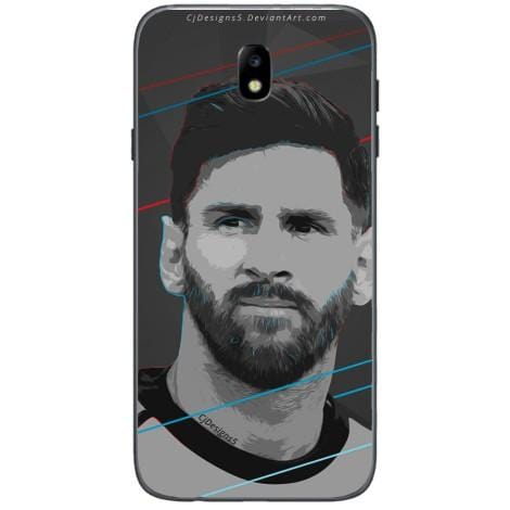 Husa Messi fc barca drawing Samsung Galaxy J3 2017-Guardo.shop-Guardo.shop