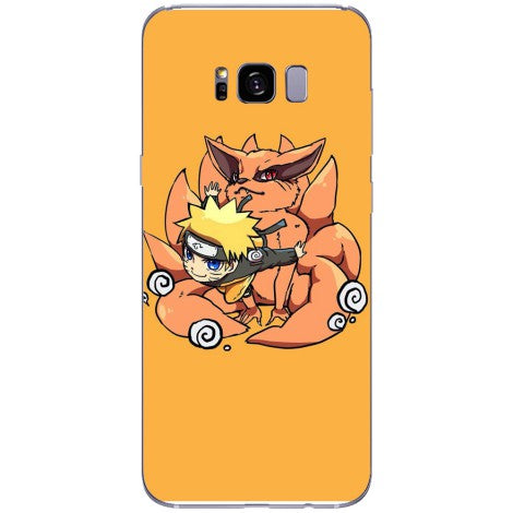 Husa Naruto and the 9 tail fox Samsung Galaxy S8
