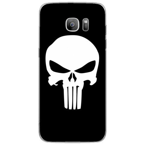 Husa Punisher logo Samsung Galaxy S7 Edge-Guardo.shop-Guardo.shop