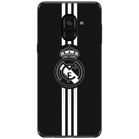 Husa Real madrid logo Samsung Galaxy A8 2018 Plus