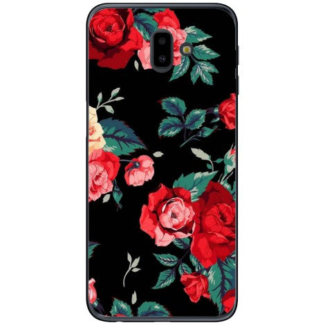 Husa Rose floral watercolor Samsung Galaxy J6 2018 Plus