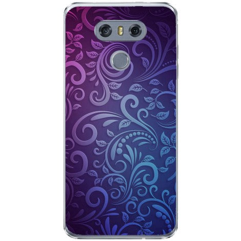 Husa Soft purple pattern LG G6-Guardo.shop-Guardo.shop