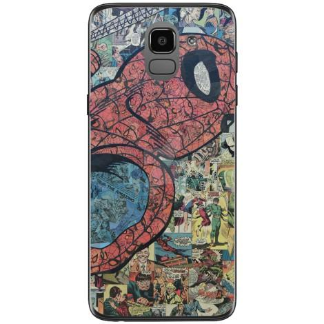 Husa Spiderman comic Samsung Galaxy J6 2018