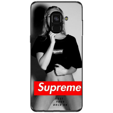 Husa Supreme girl Samsung Galaxy A8 2018 Plus
