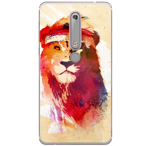 Husa The lion painting Nokia 6.1