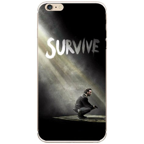 Husa The walking dead season 5 survive rick Iphone 6
