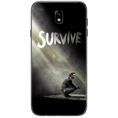 Husa The walking dead season 5 survive rick Samsung Galaxy J3 2017-Guardo.shop-Guardo.shop