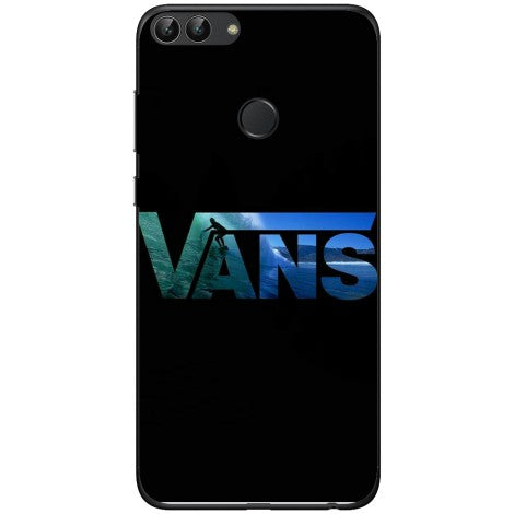 Husa Vans black wallpaper Huawei P smart