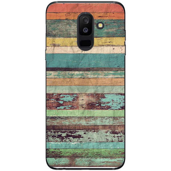 Husa Vintage multicolor Samsung Galaxy A6 PLUS 2018-Guardo.shop