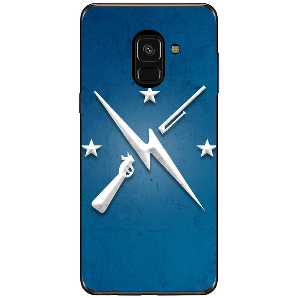 Husa Weapons logo Samsung Galaxy A8 PLUS 2018-Guardo.shop