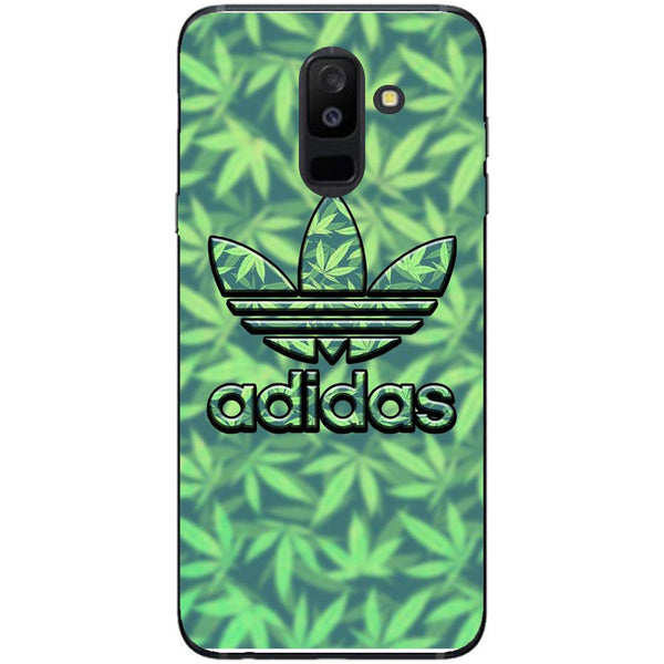 Husa Weed Adidas Samsung Galaxy A6 PLUS 2018-Guardo.shop