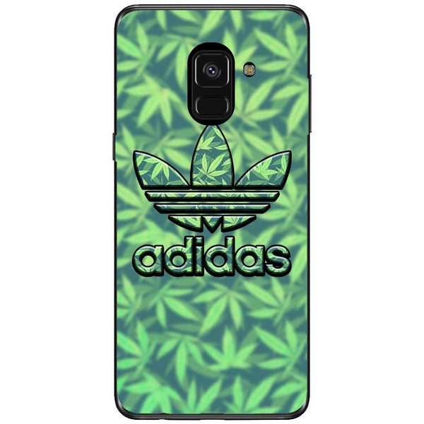 Husa Weed Adidas Samsung Galaxy A8 PLUS 2018-Guardo.shop