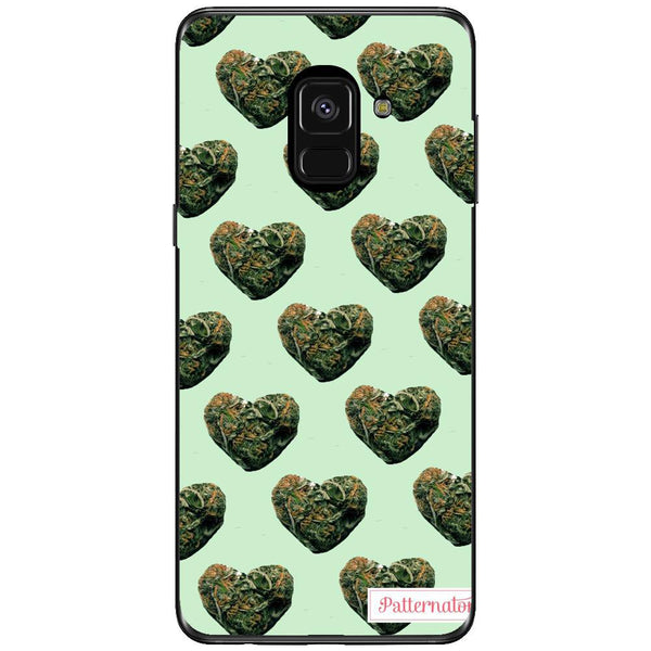 Husa Weed heart buds Samsung Galaxy A8 PLUS 2018-Guardo.shop