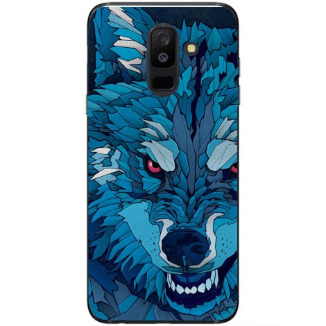 Husa Wolf with red eyes Samsung Galaxy J5 2017-Guardo.shop-Guardo.shop