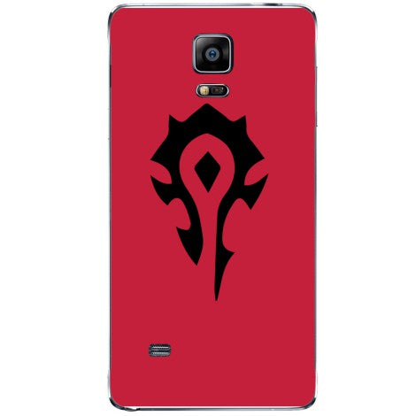 Husa World of warcraft   horde Samsung Galaxy Note 4