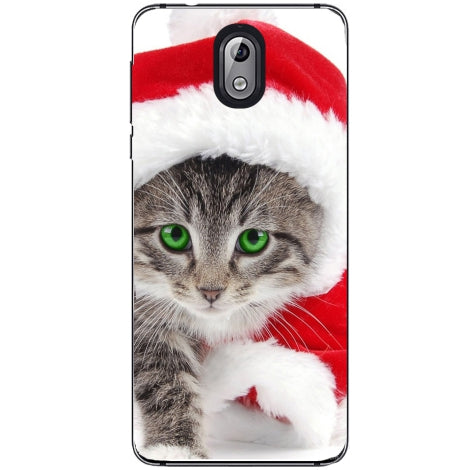 Husa X-mas Kitty Nokia 3.1 2018
