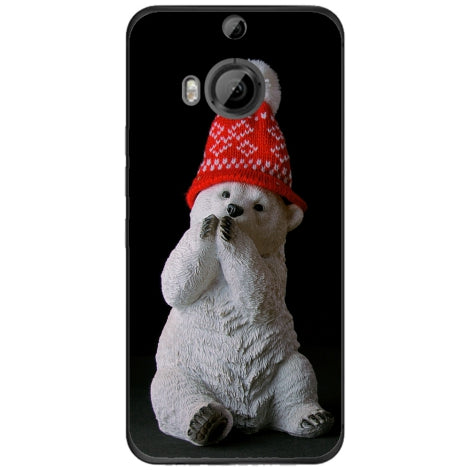 Husa X-mas bear HTC M9 Plus