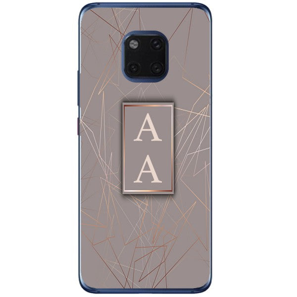 Husa Beige Lines Marble AA Huawei Mate 20 Pro