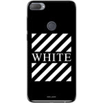 Husa Blach White Stripes HTC Desire 12 Plus